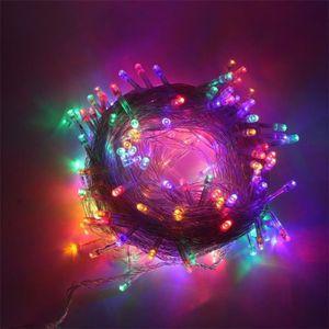 GUIRLANDE DE NOËL Guirlandes LED Lumières 10M 100 LEDs avec 8 Modes