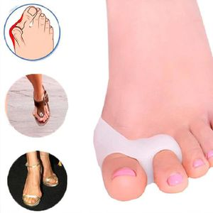 SOIN MAINS ET PIEDS Ortheses X 2 doigts Hallux Valgus orteil Silicone