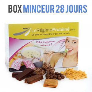 GOÛTER MINCEUR REGIME BOX 28 jours 84 produits + cure ménopause +