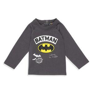 64da54c68af41 T-SHIRT BATMAN T-shirt Gris Foncé Bébé Garçon