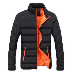 Veste homme orange - Achat   Vente Veste homme orange pas cher ... 021020e0470