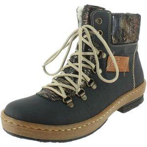 88efaf03c3c0 BOTTINE bottines   boots z6743-45 femme rieker z6743