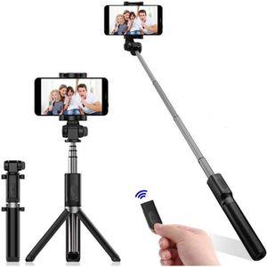 TnB SPACMONOBKL Perche Selfie pour Appareil Photo Taille L Noir