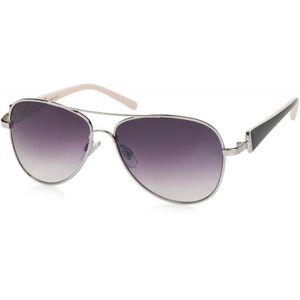 e0e48a67875cc LUNETTES DE SOLEIL Élégantes lunettes pilote pour femme à verres tein