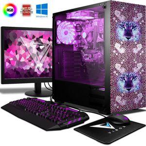 UNITÉ CENTRALE + ÉCRAN VIBOX Kaleidos SA4-92 Pack PC Gamer - AMD 2-Core,