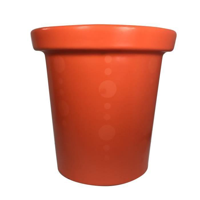 Pot de fleurs Delight - 420 L - Orange