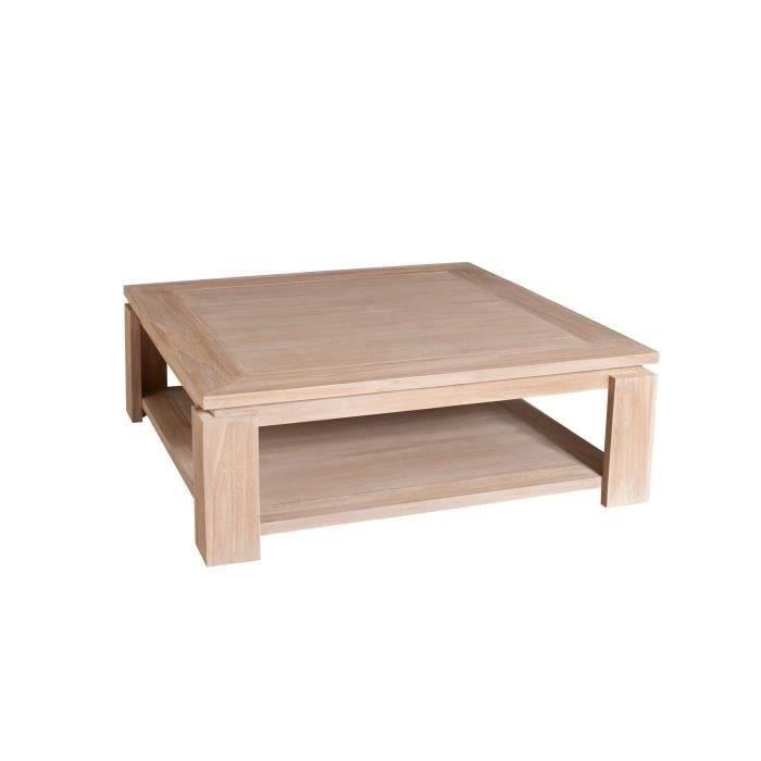Table basse carrée chez CDiscount