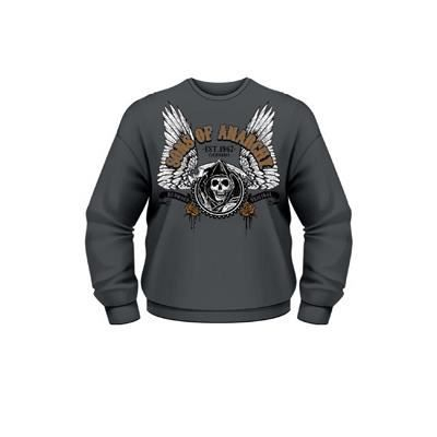 Achat m Vente Sweat Sons Reaper Bleu Anarchy Winged Of wqzXpH0