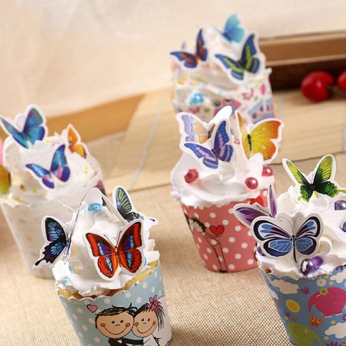 Decoration gateau papillon achat vente decoration - Decoration gateau papillon ...