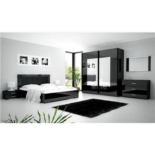 Chambre coucher compl te roma achat vente chambre for Mobilier chambre complete