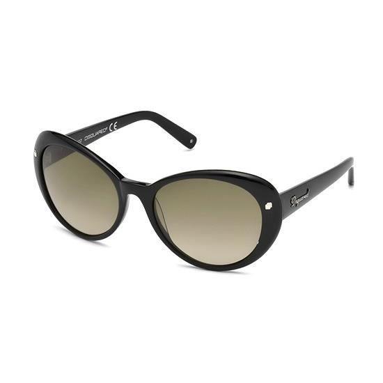 Dsquared DQ0113 01P Sunglasses - Achat   Vente lunettes de soleil ... cc1fb4cbe2f0