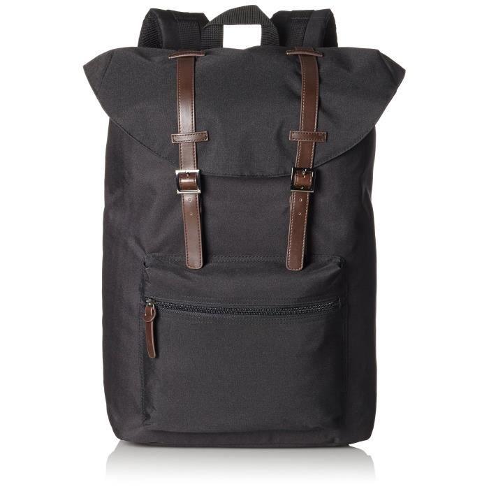 Leonhard Heyden Hamilton Backpack - 18.90 Litres - Black UD7AO