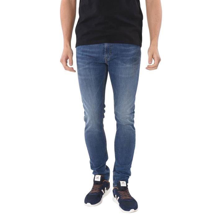 f0d024caf Jean Slim Hommes KAPORAL. Marron Marron - Achat / Vente jeans ...