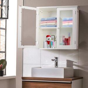 armoire de toilette achat vente armoire de toilette pas cher cdiscount. Black Bedroom Furniture Sets. Home Design Ideas