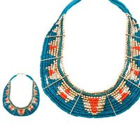 collier perle ethnique