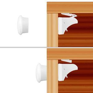 BLOQUE TIROIR AIHONTAI® Verrouillage magnétique d'armoire magnét