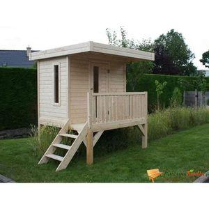 MAISONNETTE EXTÉRIEURE Play House 1800x1800 3,24m² utiles