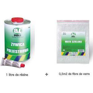 JOINT D'ÉTANCHÉITÉ BOLL - 1 litre de resine polyester + catalyseur+ f