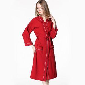 PEIGNOIR Peignoir de Bain Homme Femme Robes de SPA-Chambre