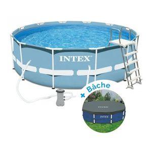 piscine tubulaire 1m22 achat vente pas cher. Black Bedroom Furniture Sets. Home Design Ideas