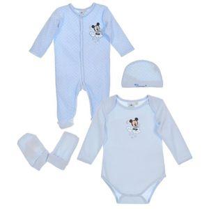 BODY Set Body pyjama mouffles bonnet bébé Garçon MICKEY