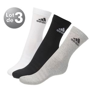 chaussettes adidas achat vente chaussettes adidas pas cher cdiscount. Black Bedroom Furniture Sets. Home Design Ideas