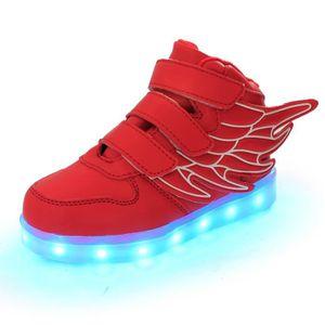 5367c41808bc7 IZTOSS chaussures LED pour enfants les enfants ont conduit lumières ...