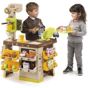 MARCHANDE SMOBY Coffee House + 57 Accessoires