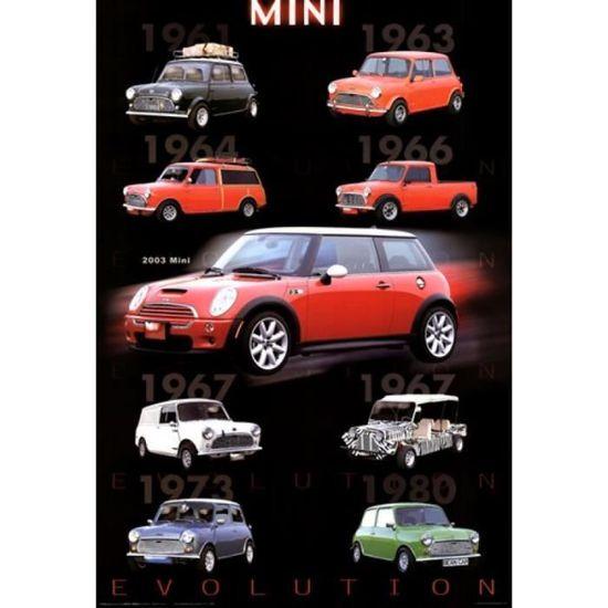 Evolution Mini Cooper Impression Daffiche 6096 X 9144 Cm