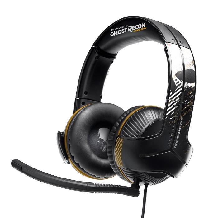 Thrustmaster Micro-Casque Gamer Y350X 7.1 GRWL Edition - Filaire - Sound 7.1 - Xbox One / PC