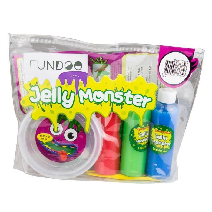 FUNDOO - Monster slime diy - crystal bag