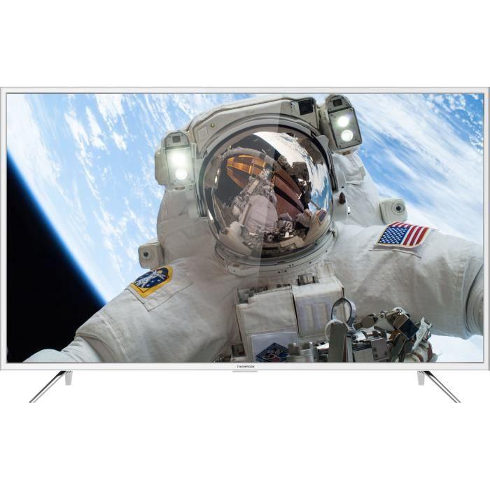 Thomson 49ud6216w tv led 4k uhd 124.5 cm 49 smart tv 3 x hdmi 2 x usb classe énergétique a blanc