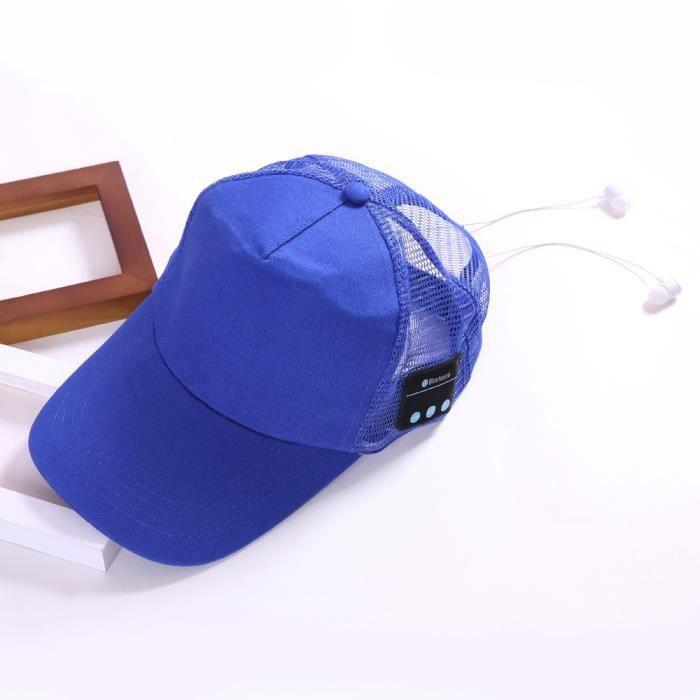 Sport Sans Fil Bt4.2 Musique Chapeau Haut-parleur Micro Casque Écouteurs @2175