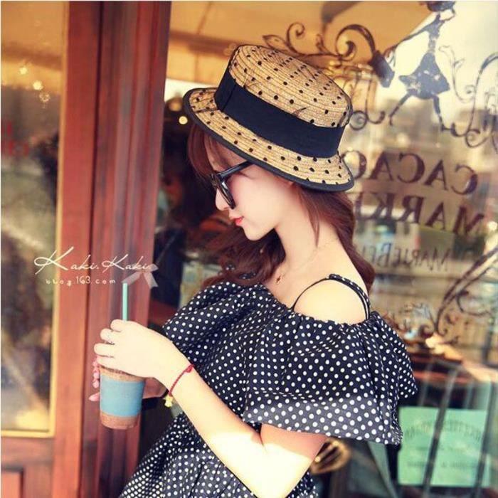 Chapeaux- % bonne Plat Soleil Cadeau femme mode - Achat   Vente ... b7d1b0dd3a7