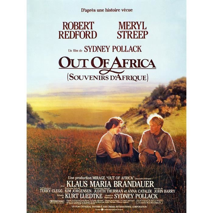 out of africa reproduction poster cin 60x80 achat. Black Bedroom Furniture Sets. Home Design Ideas