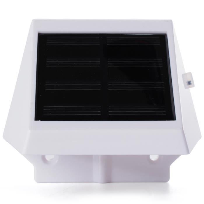 Eclairage Escalier Sans Fil xcellent global 4 led solaires sans fil blanches eclairage des