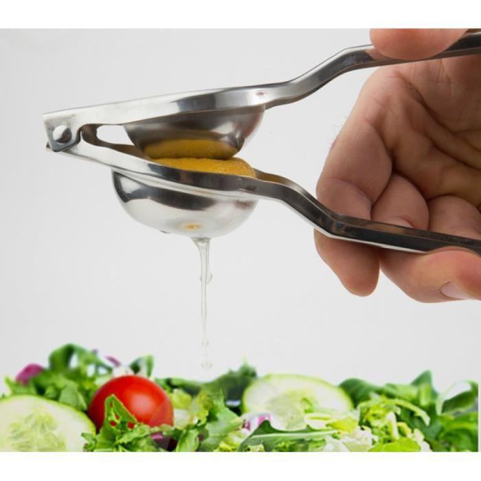 Presse citron inox presse-agrumes manuel citron Clip de polissage ...