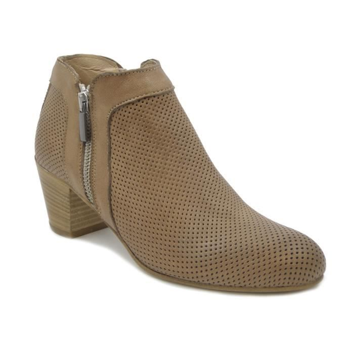 Chaussures Osvaldo Pericoli taupe femme NzVm7nJDxF