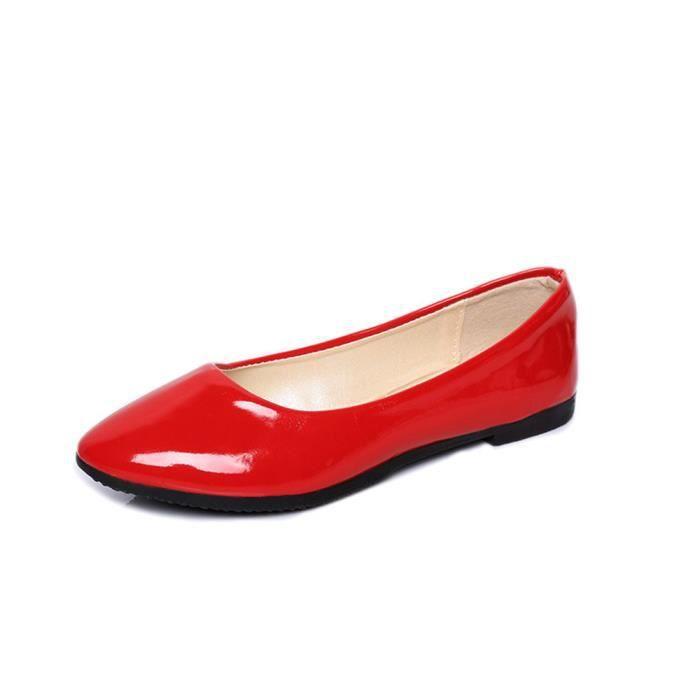 Chaussures Plates Elégant Nouvelle Classique Qualité Supérieure Moccasin Mode Plus De Couleur Rétro Chaussure Confortable Doux 35-42 B6uk4VwOfO