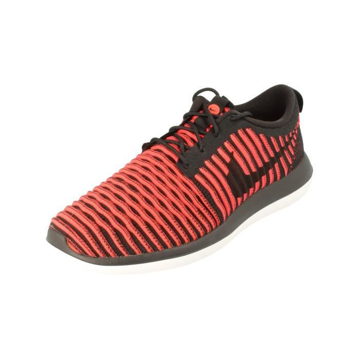 newest e86dd b9141 BASKET Nike Roshe Two Flyknit Hommes Running Trainers 844. Marque  Nike    Couleur  Noir