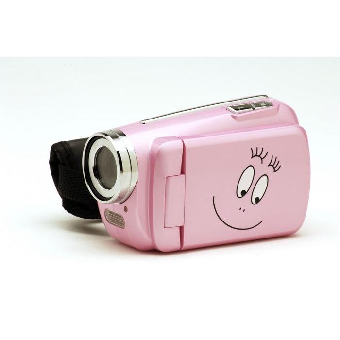 CAMÉSCOPE ENFANT BARBAPAPA Caméra Vidéo Numérique 5 MP