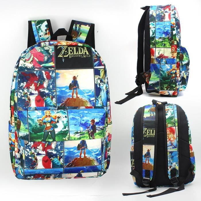 Zelda Breath De Jeu Of Ps4 À Legend The Wild Sac Dos wUXPXq