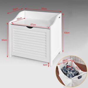panier a linge tabouret achat vente panier a linge tabouret pas cher soldes d s le 10. Black Bedroom Furniture Sets. Home Design Ideas