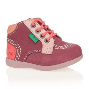 chaussures kickers bebe fille pas cher