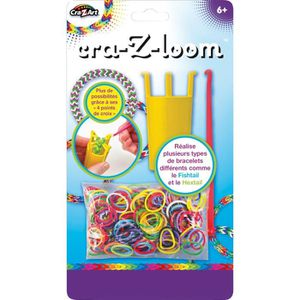 CRAZART Kit De Loisirs Créatifs - Mini Loom 4 Points De Croix