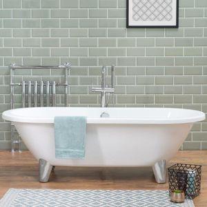 baignoire ilot retro achat vente baignoire ilot retro pas cher cdiscount. Black Bedroom Furniture Sets. Home Design Ideas