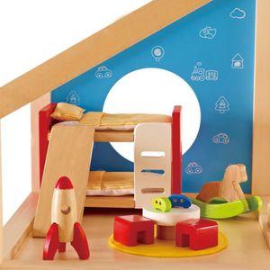 MAISON POUPÉE Magnifique Chambre d'enfant pour maison de poupee