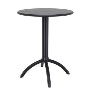 table ronde hauteur 60 cm achat vente pas cher. Black Bedroom Furniture Sets. Home Design Ideas