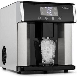 MACHINE À GLACONS Klarstein Eiszeit Machine à glaçons 15kg - 24h - 3