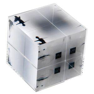 CADRE PHOTO Mascagni Cadre Photo En Acrylique Transparent Cube